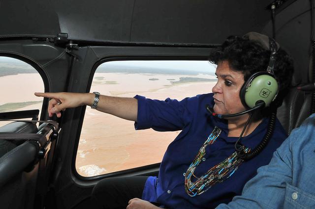 Governo Federal monitora bacia do rio Doce