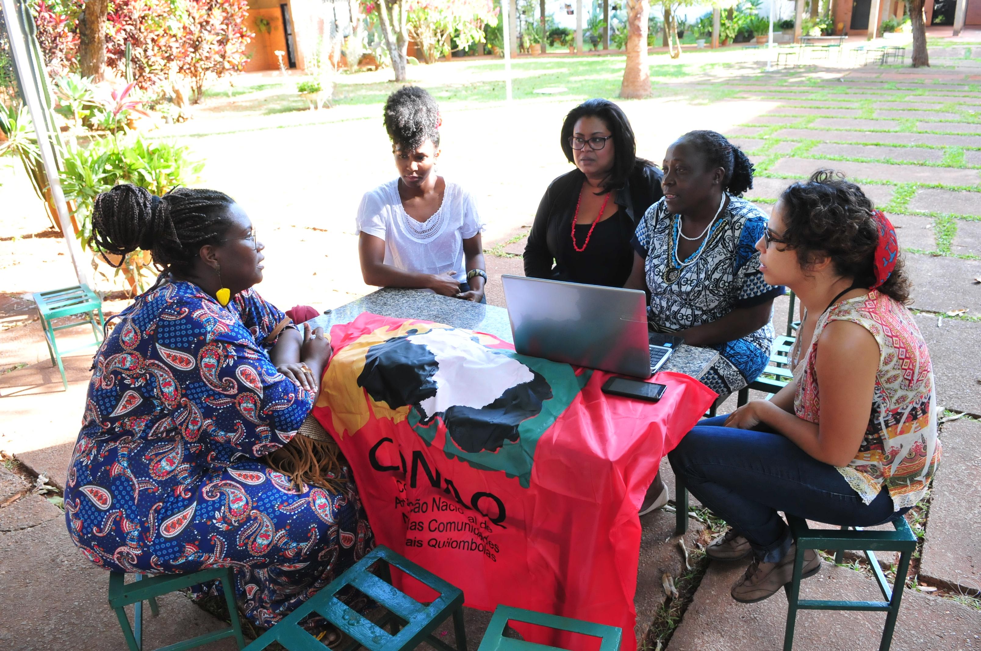 Quilombolas discutem planos ambientais