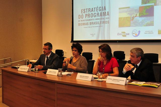 Governo lança ações contra desmatamento