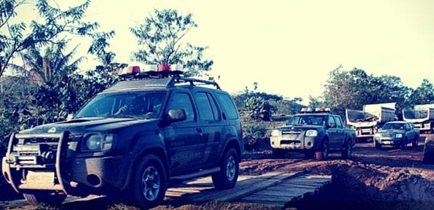 Operação prende desmatadores no Pará