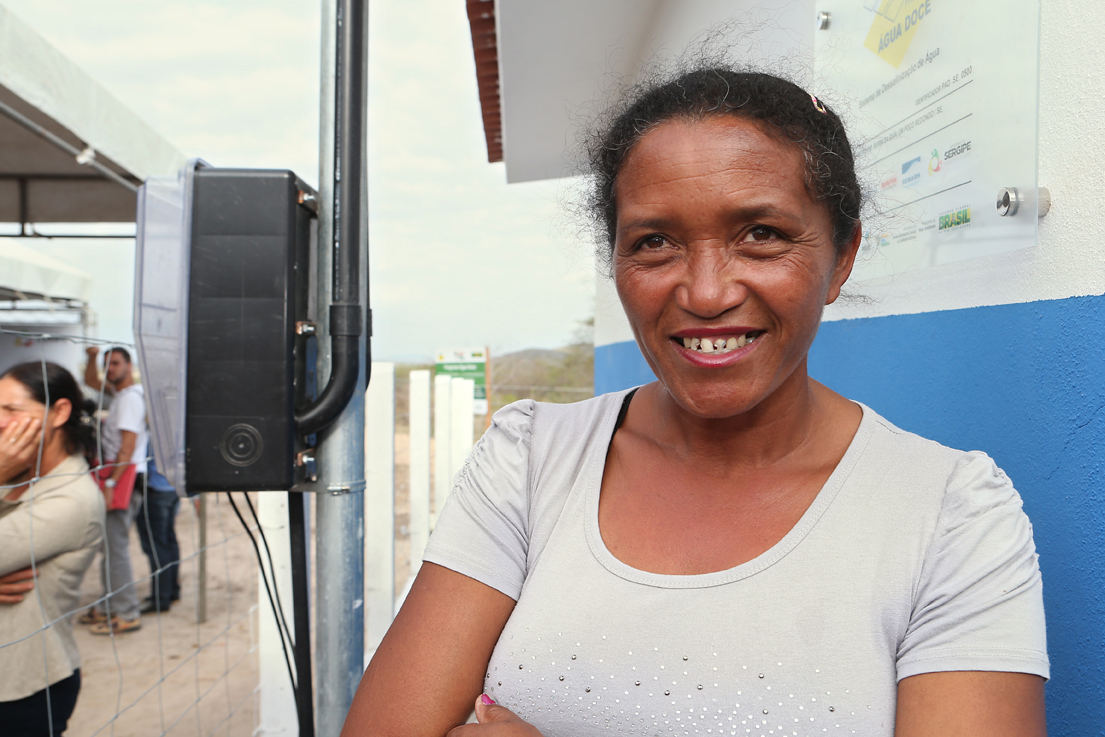 Água Doce chega a Aningas, em Sergipe