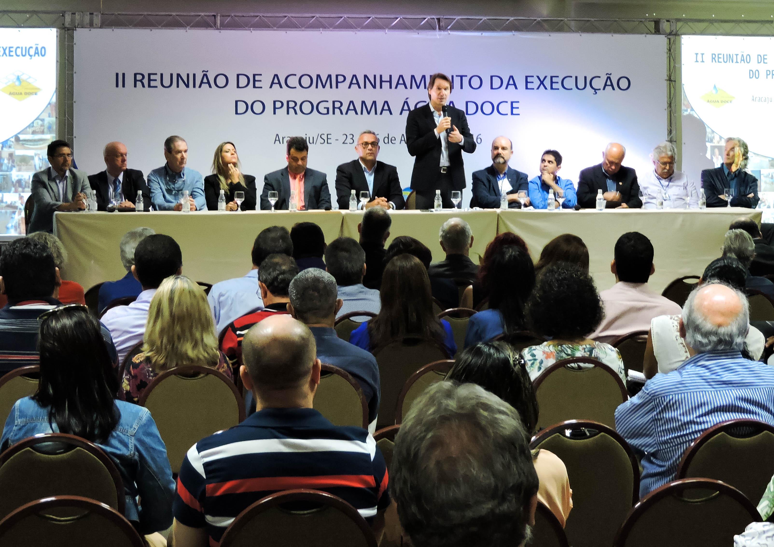 MMA estuda a expansão do Água Doce