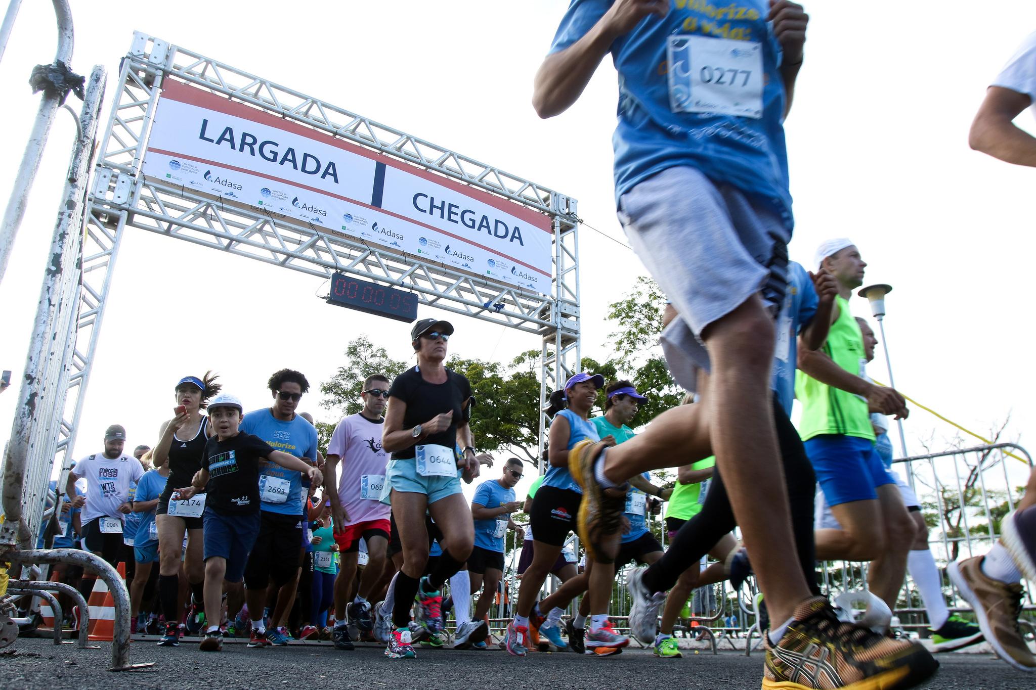 Corrida pela Água movimenta três mil atletas