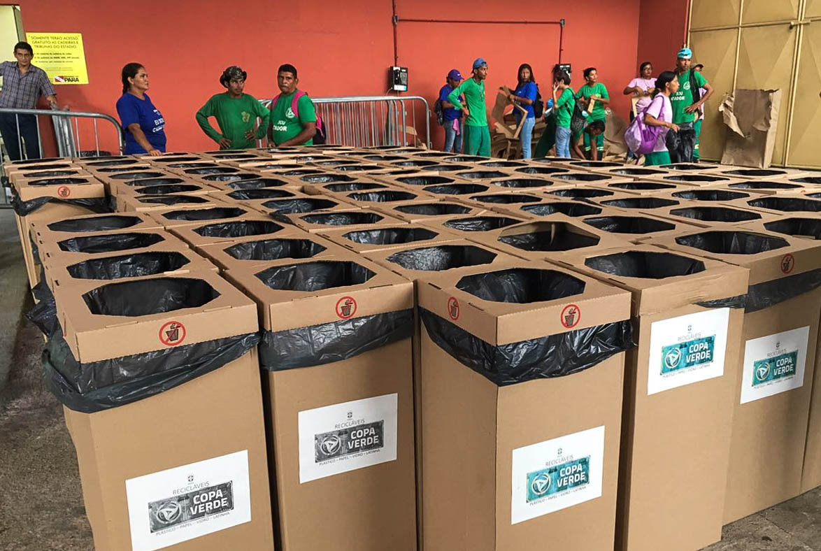 Final da Copa Verde terá gestão de resíduos