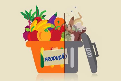 Palestra alerta para desperdício de alimentos
