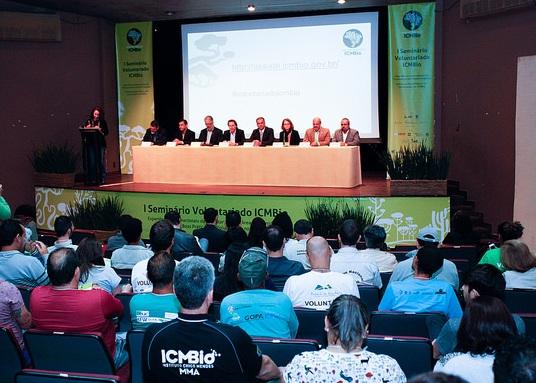 Governo reforça ações de voluntários em UCs