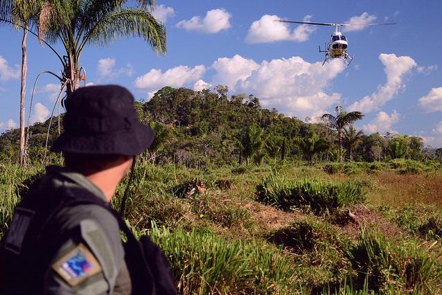 Ministro avalia combate ao desmatamento