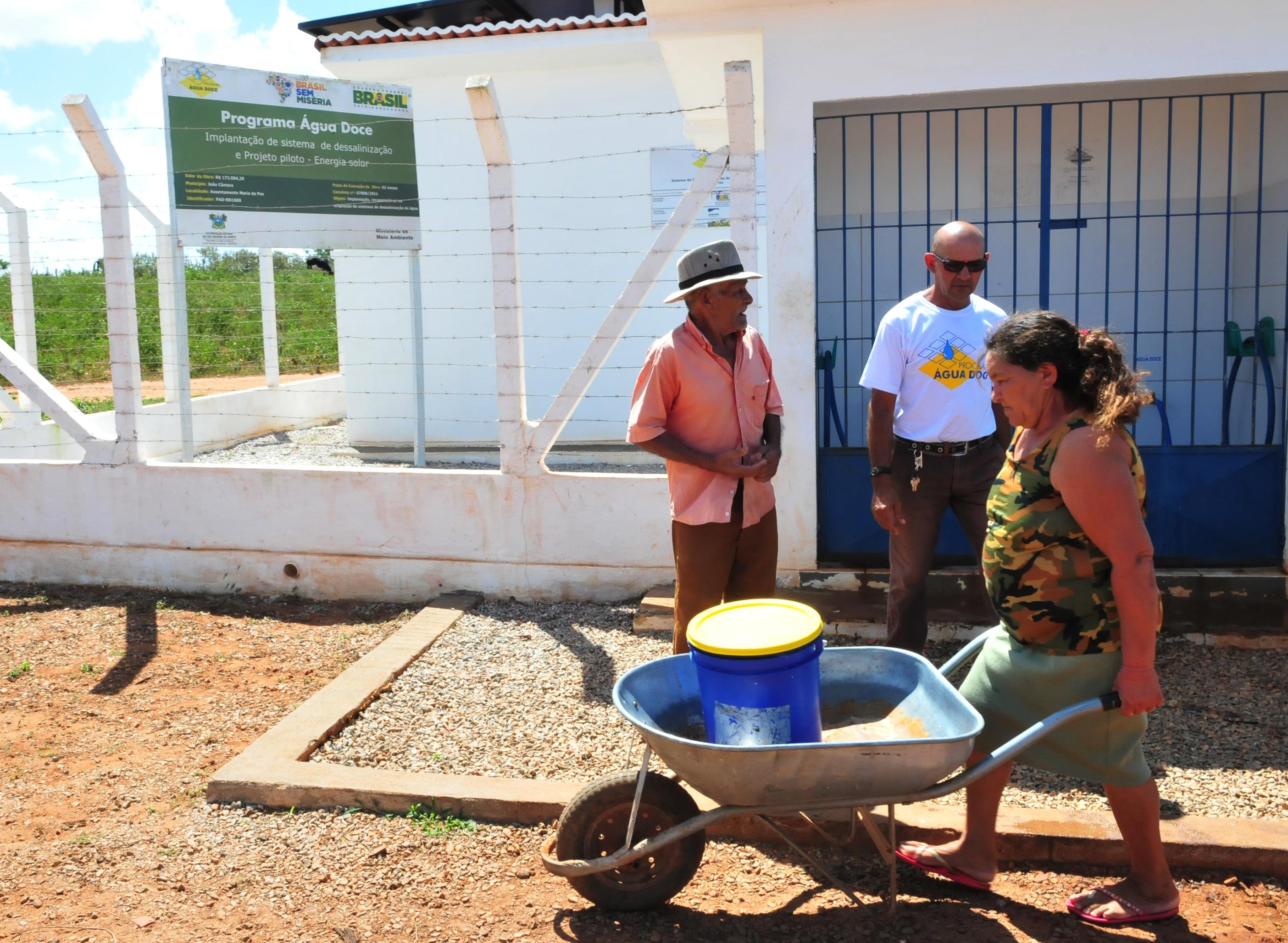 Ministério apresenta Água Doce ao mundo