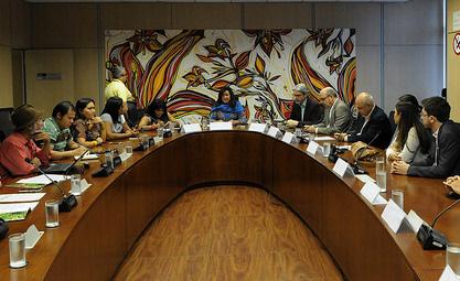 Ministério dialoga com lideranças indígenas
