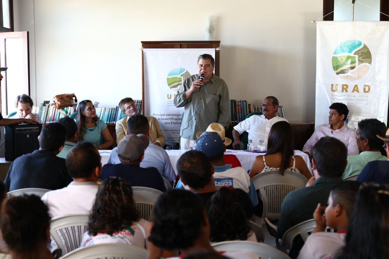 Ministério reforça combate à desertificação