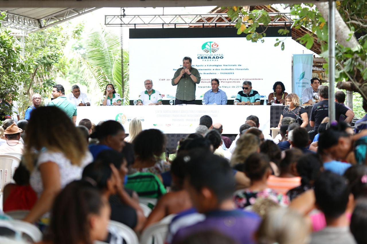 Comunidades de Caxias recebem o CAR