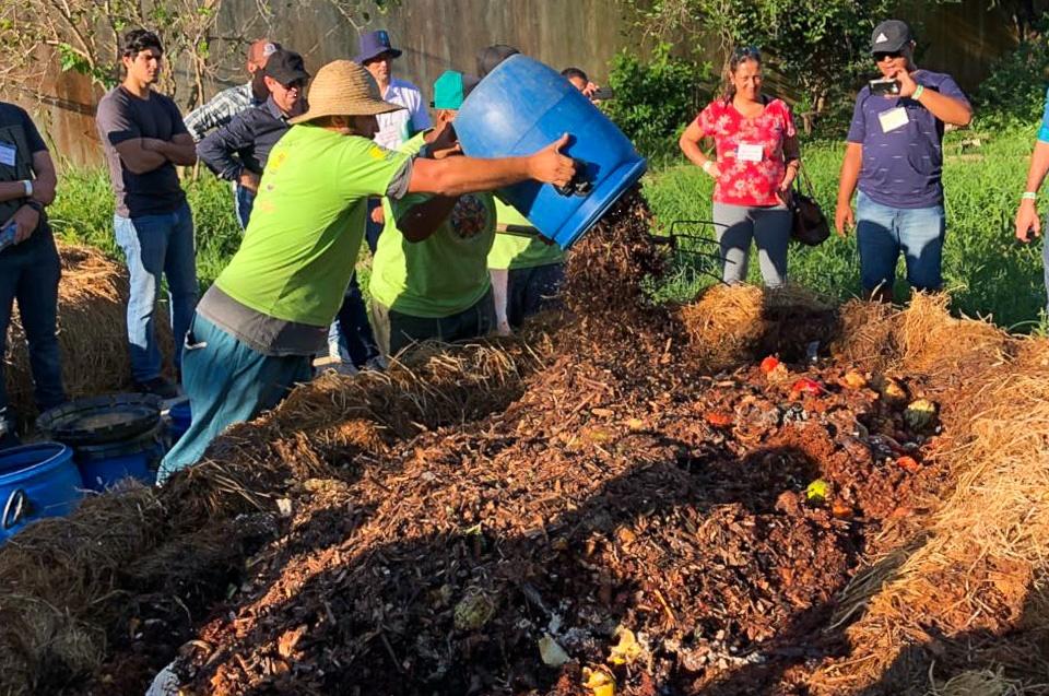 MMA promove compostagem nas cidades