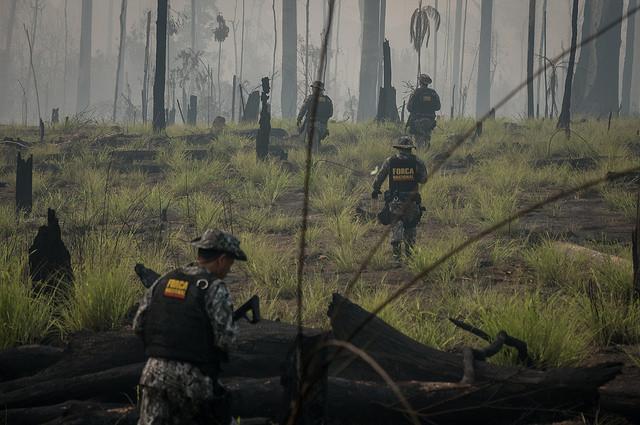 Governo federal reforça ações na Amazônia